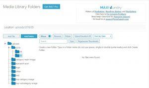 Media Library Folders 別フォルダー 画像を移動 4